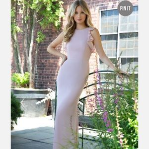 Hayley Paige dress style #5863 in candlelight